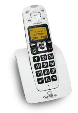 A400 cordless amplified telephone with caller id