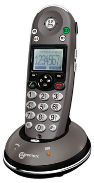 Amplidect 350 cordless amplified telephone with caller id
